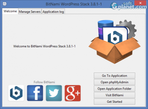 BitNami WordPress Stack 3.8.1-1