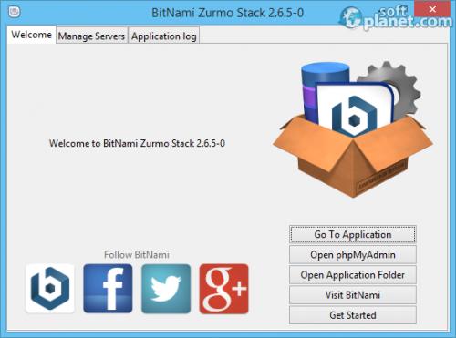 BitNami Zurmo Stack 2.6.5