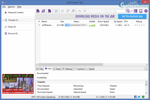 BitTorrent 7.9.2 Build 38759