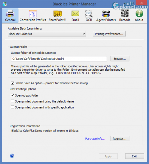 Black Ice Printer Manager 4.0.2.701