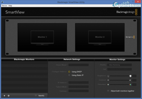 Blackmagic SmartView Utility 3.0.1