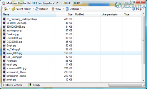 Bluetooth File Transfer 1.2.1.1