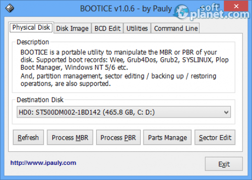 Bootice 1.3.1