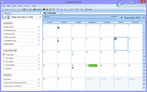 Bossdesk Calendar 1.0.1.9
