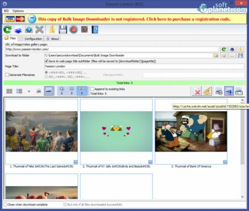 Bulk Image Downloader 4.74.0.0