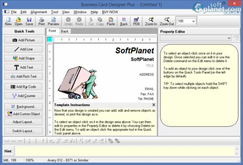 Business Card Designer Plus 11.2.0.0