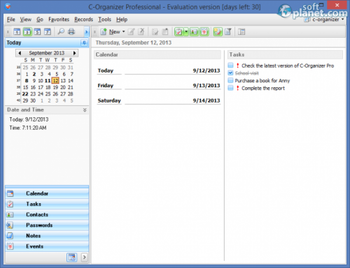 C-Organizer Pro 4.9