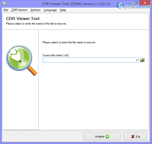 CDR Viewer Tool 2.0.1.0