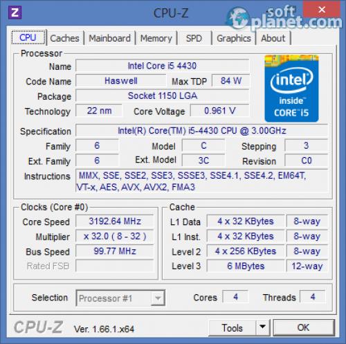 CPU-Z 1.71