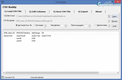 CSV Buddy 1.1