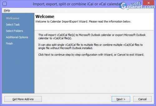 Calendar ImportExport 3.10.5129