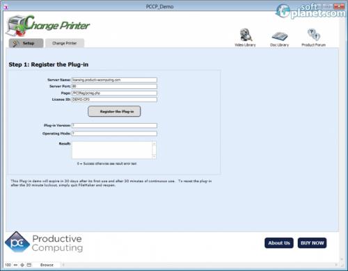 Change Printer Plug-in 4.0.3.0