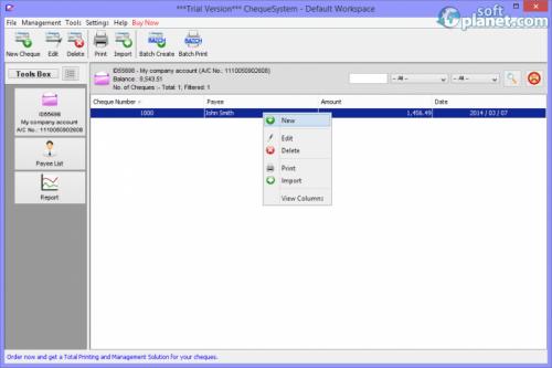 ChequeSystem 3.2.0-b404