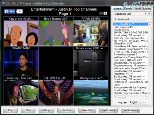 ChrisPC JTV Player 4.1.0.0