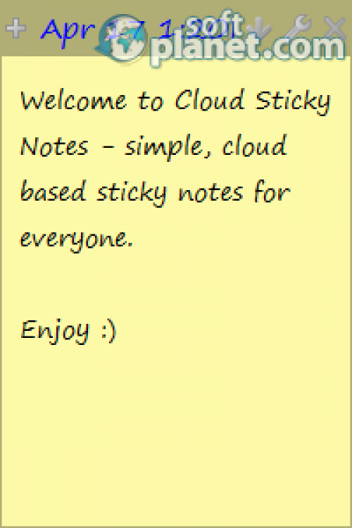 Cloud Sticky Notes 2.0