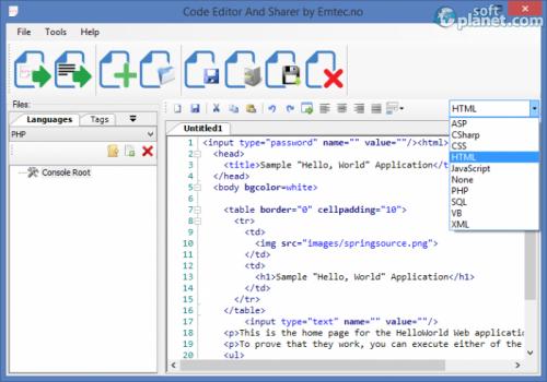 Code Editor And Sharer 1.0.0