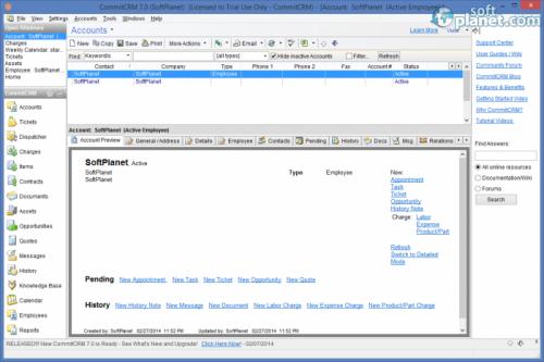 CommitCRM 7.0.0.6