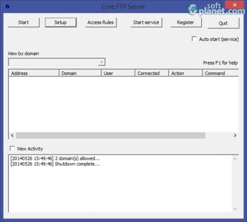 Core FTP Server 1.2 Build 535