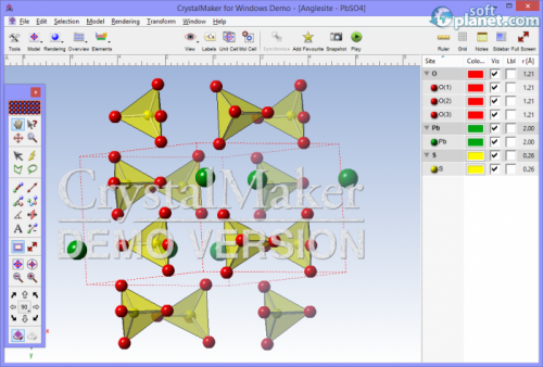 CrystalMaker 2.7.7