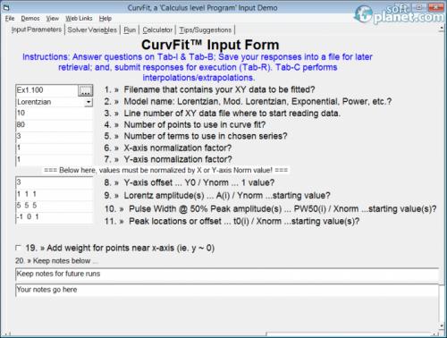 CurvFit 5.12.5