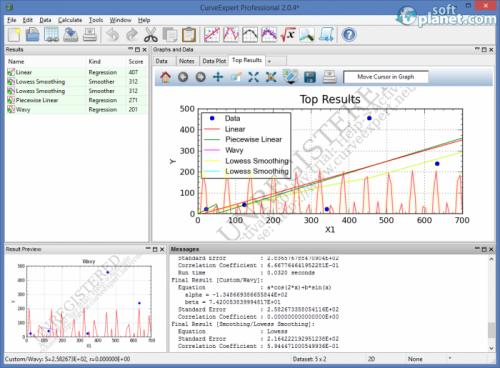 CurveExpert Professional 2.0.4