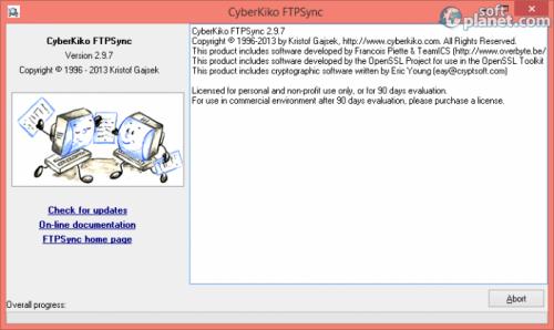 CyberKiko FTPSync 2.9.7