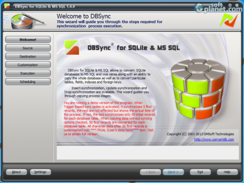 DBSync for SQLite and MSSQL 1.4.4