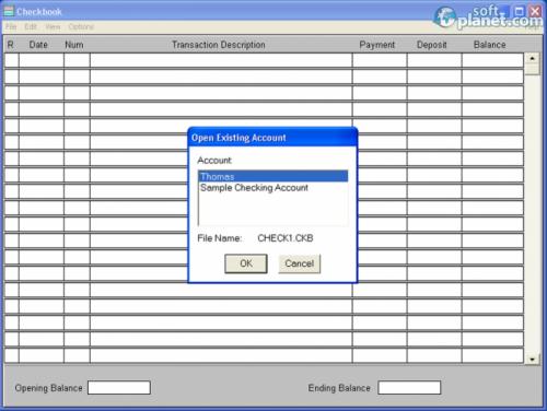 Dataware Checkbook 4.09.06