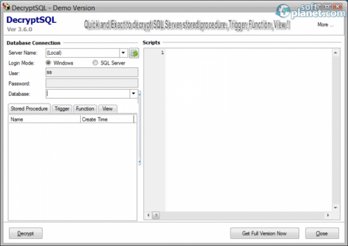 DecryptSQL 3.6.0