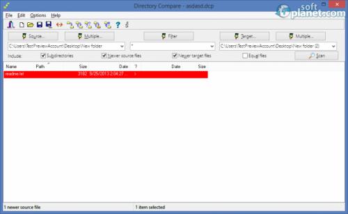 Directory Compare Portable 3.45