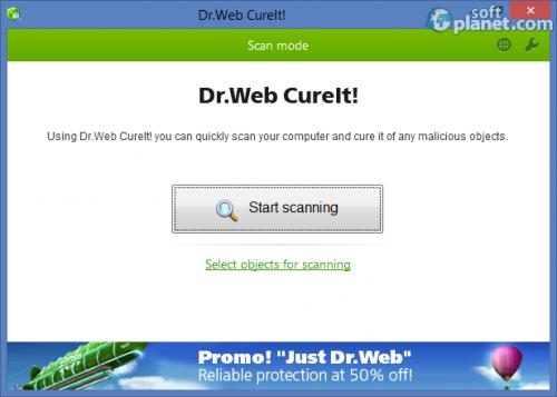 Dr.WEB CureIt! 9.0