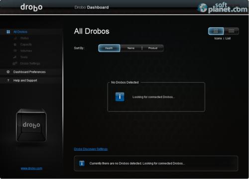 Drobo Dashboard 2.5.3
