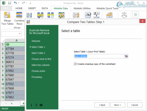Duplicate Remover for Microsoft Excel 3.3.6