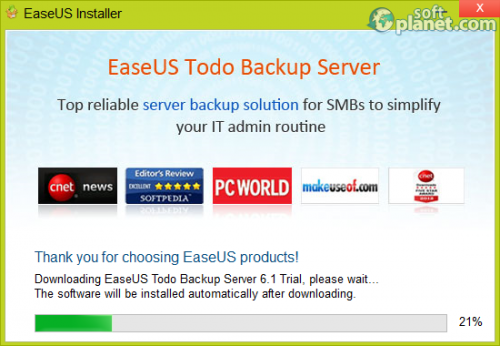 EASEUS Todo Backup Server 6.1