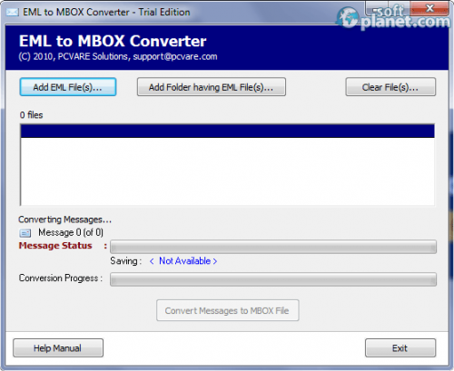 EML to MBOX Converter 2.1.0.0