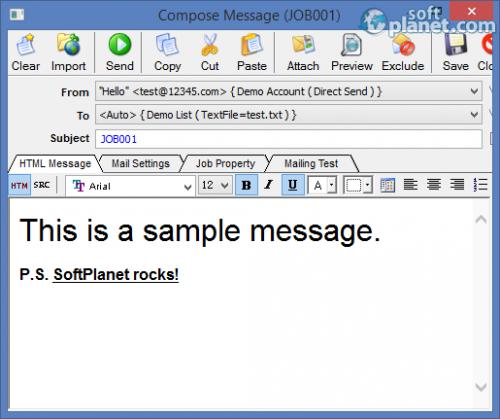 EMS Bulk Email Sender 3.7.2.2
