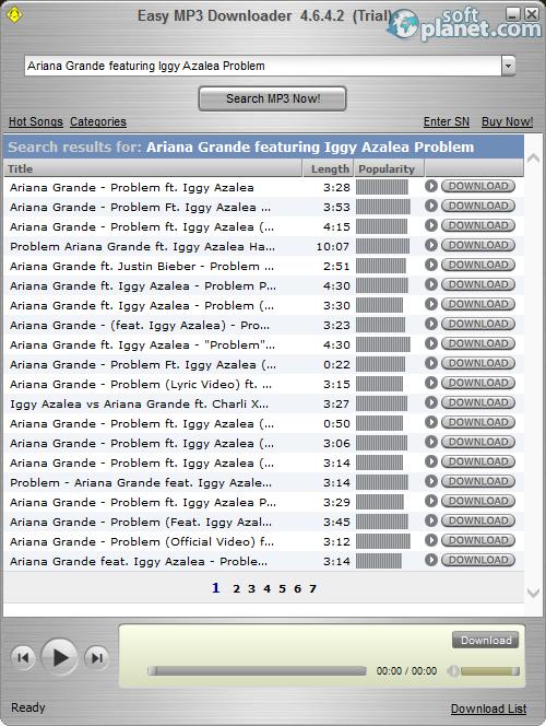 Easy Mp3 Downloader 4.6.9.2