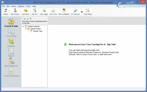 Easy Time Tracking Pro 6.0.7