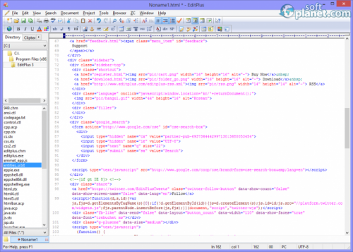 EditPlus 3.60 Build 740