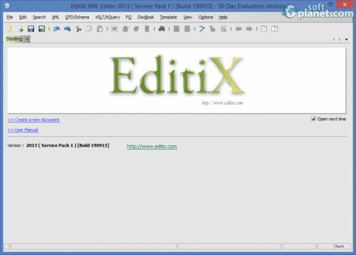 EditiX XML Editor 2013 SP1 build 190913