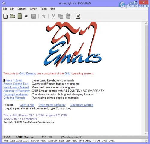 Emacs 24.3