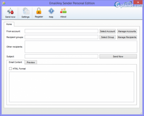 EmailAny Sender 2.2.0.0