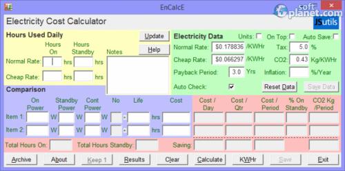 EnCalcE 6.2