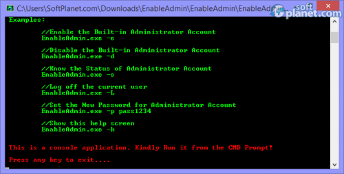 Enable Admin 1.5