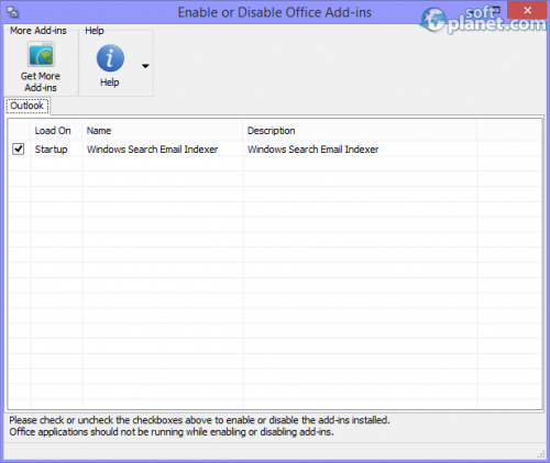 EnableDisable for Office 3.10.5129