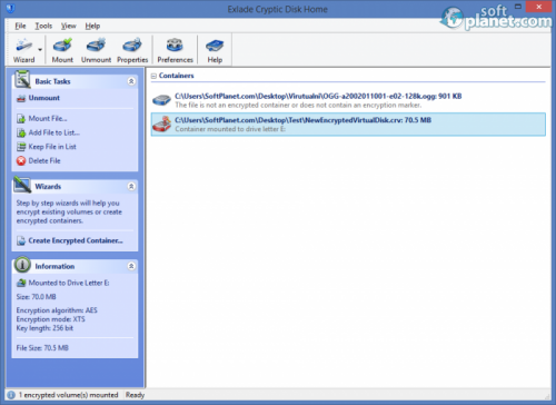 Exlade Cryptic Disk Home Edition 3.2.51.710