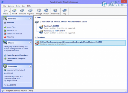 Exlade Cryptic Disk Professional 3.1.41.665