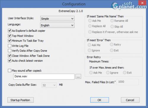 ExtremeCopy 2.1.0 Standard E