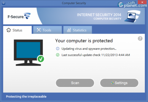F-Secure INTERNET SECURITY 2014 1.89 built 205