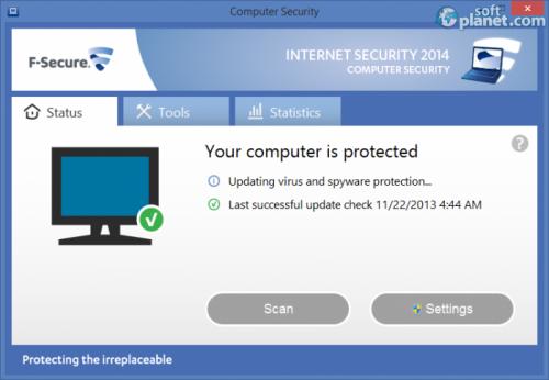 F-Secure INTERNET SECURITY 2014 1.89 built 205